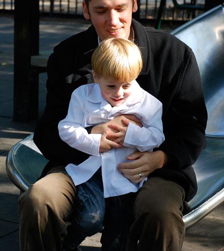 Weston and Papa