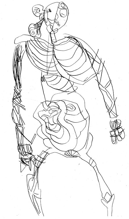 julia's anatomy drawing